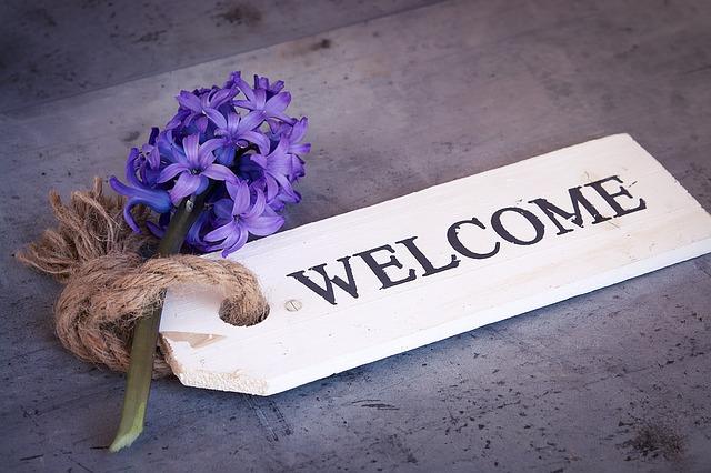Cartel de Bienvenida