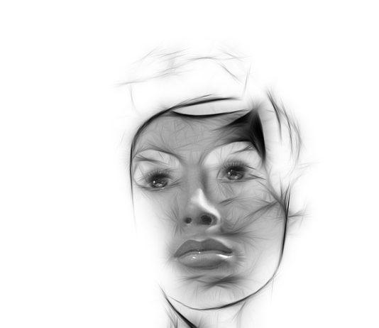 Cara de una mujer